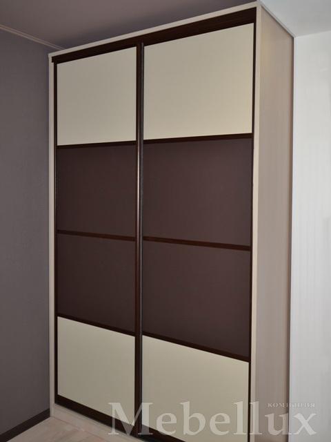 Двери под кожу для шкафа купе